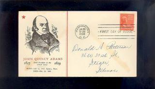 John Quincy Adams 811 July 28,  1938 Washington,  Dc photo