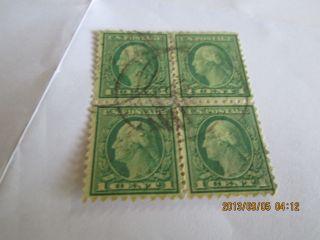 Us Scott 462 Block Of 4 Scott Ptice $3.  25 My Price.  $1.  00 photo
