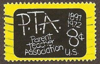 Usa Scott 1463,  Parent Teachers Association, ,  1972 photo