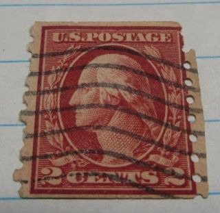 1912 2 Cent Us Postage Scott 413 photo
