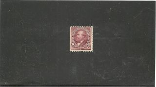 Usa Sc 271 6 C Claret Brown Garfield Stamp Issued 1895 Mng S - 1818 photo