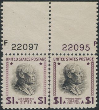 Tmm 1938 General Issue Us Stamp Plate Double S 832 Vf Mint/no Hinge/old Gum photo