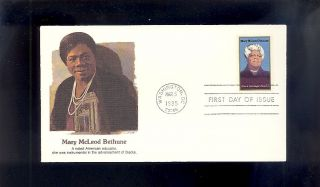 Mary Mcleod Bethune 2137 March 5,  1985 Washington,  Dc photo