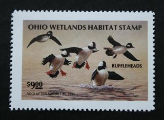 Sale: (oh12) 1993 Ohio State Duck Stamp photo