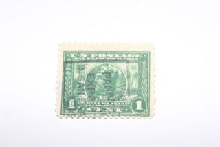 Us Stamp 397,  With Panama Pacific Cancellation photo