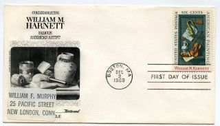 1386 William Harnett Fleetwood Addressed Fdc photo