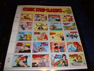Scott 3000 Comic Strip Classics,  1995 photo