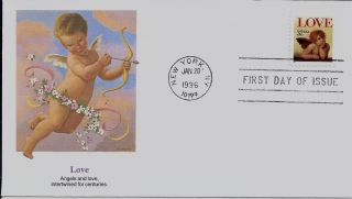 Love,  Scott No.  3030 Fleetwood Fdc photo