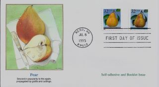 Pear,  Scott No.  2488 & 2494 Fleetwood Fdc photo