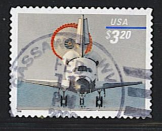 Scott 3261 Priority Mail Space Shuttle Landing photo