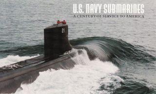 Us Navy Submarines Prestige Booklet Complete Scott Bk279 (3377a) photo