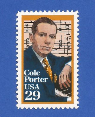 Us 2550 Cole Porter Never Hinged photo