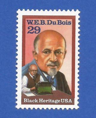 Us 2617 W.  E.  B Du Bois Never Hinged Never Hinged photo