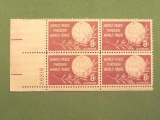 U S One Plate Block Of 4 Never Hinged Sc 1129 photo