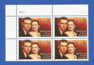 Us 3287 Performing Arts Plate Block Never Hinged photo