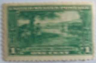 1925 Lexington Concord Us Stamp 617 Mng photo