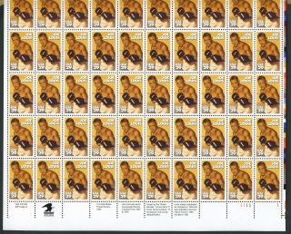 Us Stamp Joe Louis Boxing Complete Pane Of 50 Scott 2766 photo