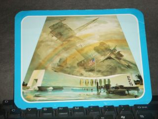 Uss Arizona Bb - 39 Naval Cover Battleship Memorial Pearl Harbor,  Hawaii photo