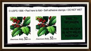 Us Stamps+label Scott 3177 photo