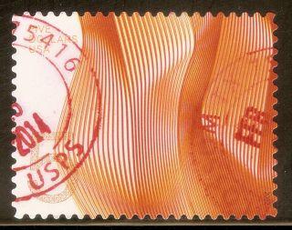 U.  S.  Scott 4719 $5 Waves Of Color F - Vf No Gum Off Paper 2012 High Value photo