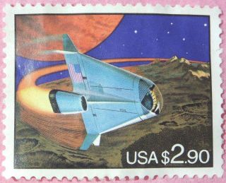 1995 Express Stamp - Space United States $2.  90 Postage Stamp Nh photo
