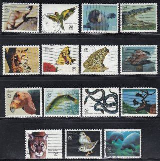 Us 3105 A - O - Endangered Species - 32c - 1996 - - F682 photo