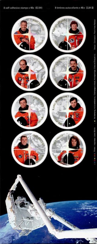Canada 1999 Space,  Canadian Astronauts photo