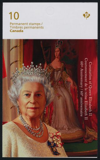 Canada 2644a Booklet Queen Elizabeth 60th Anniversary Of Coronation photo