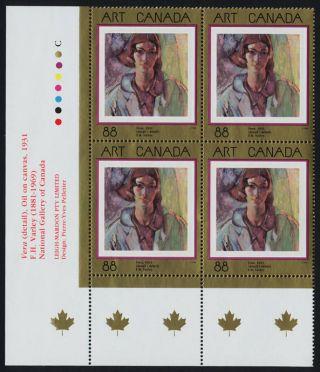 Canada 1516 Bottom Left Block Art,  Painting photo