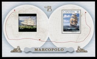 Canada 1779a - Ships,  Marco Polo - Joint Issue With Australia photo