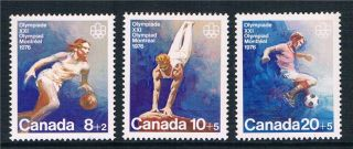 Canada 1976 Olympic Games Sg 829 - 31 photo