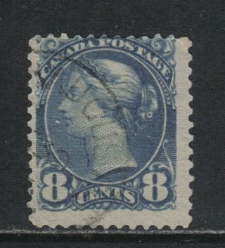 Canada 1888 - 93 Queen Victoria 8c Blue Gray (44a) photo