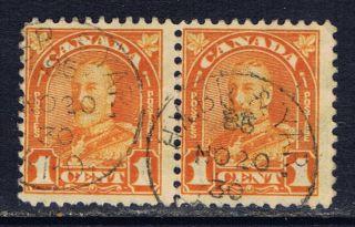 Canada Ma - 69 (3) Rpo Hx.  Br.  & Yar.  / R.  P.  O.  On Pair 162 photo