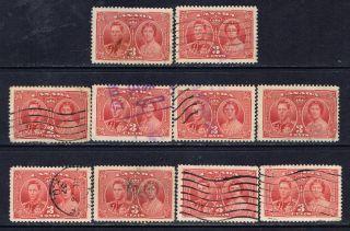 Canada 237 (14) 3 Cent George Vi & Elizabeth Coronation 10 photo
