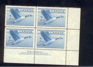 Canada Block Of Canada Goose 7 Cent photo