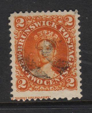 Canada Brunswick 1860 2 C Orange photo