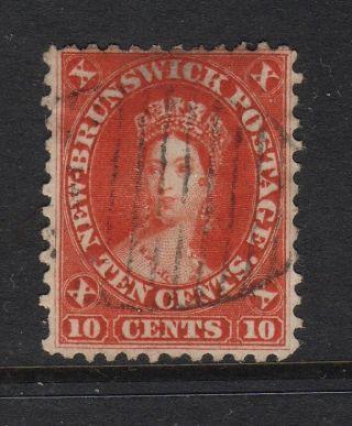 Canada Brunswick 1860 10 Cents Red photo