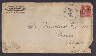 Wanda Alberta S/ring Receiver On 1910 Cover Rf - E photo