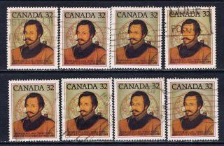 Canada 995 (1) 1983 32 Cent Sir Humphrey Gilbert 8 photo
