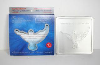 Canada Post Millennium Keepsake 2000 Collector Tin - photo