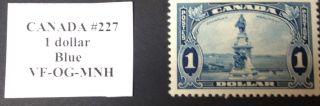 Canada Stamp 227 Vf Jumbo photo