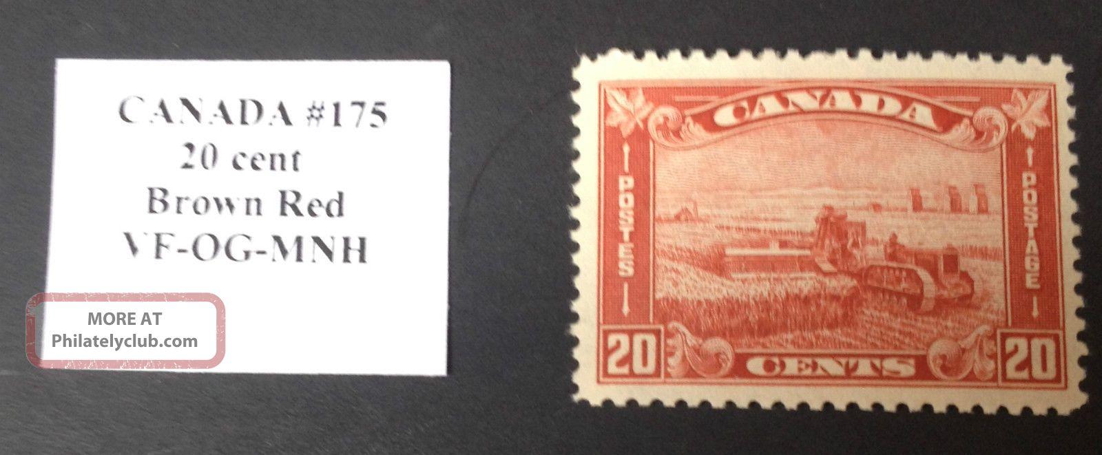 Canada Stamp 175 Vf Canada photo