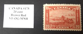 Canada Stamp 175 Vf photo