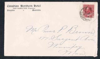 1913 Canadian Northern Hotel Of Dauphin Manitoba Dan Hamilton Prop Cover photo