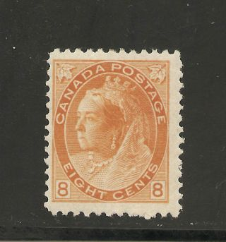 Queen Victoria Numeral Issue Eight Cents 82 Mh photo