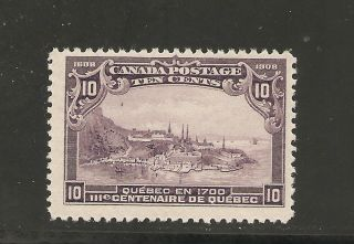 Quebec Tercent.  Issue 10 Cents Quebec In 1700 101 Nh photo