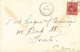 Canada Doaktown Brunswick 1945 Postmark Oin Cover photo
