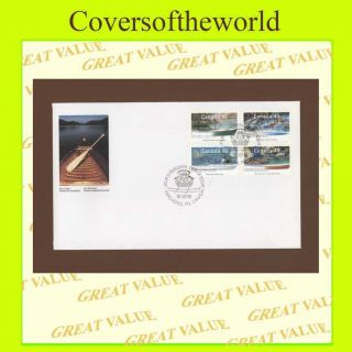 Canada 1991 Watercraft/boats First Day Cover photo