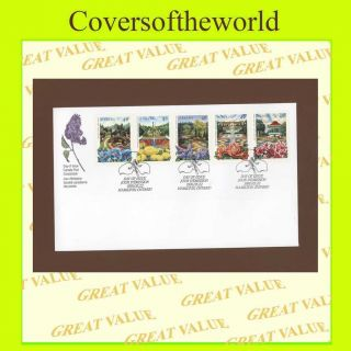 Canada 1991 Flowers/gardens First Day Cover photo