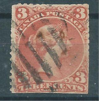 1868 - 76 Canada - 3 C. photo
